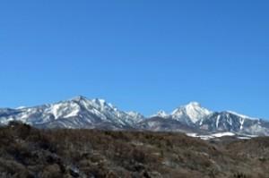 八ヶ岳の様子