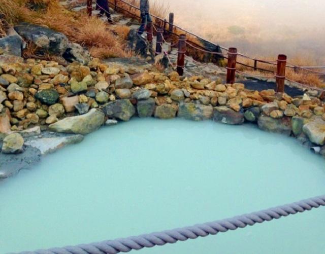 箱根の硫黄温泉