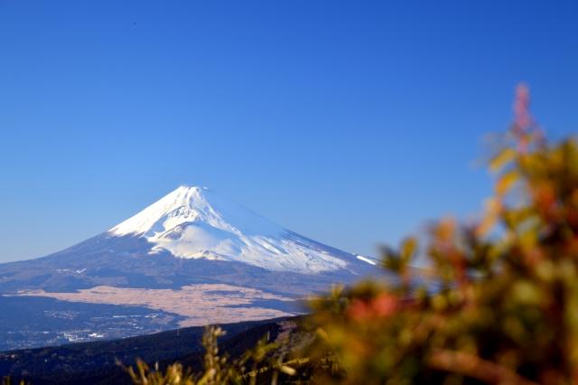 箱根から富士山
