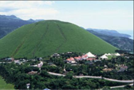 伊豆大室山