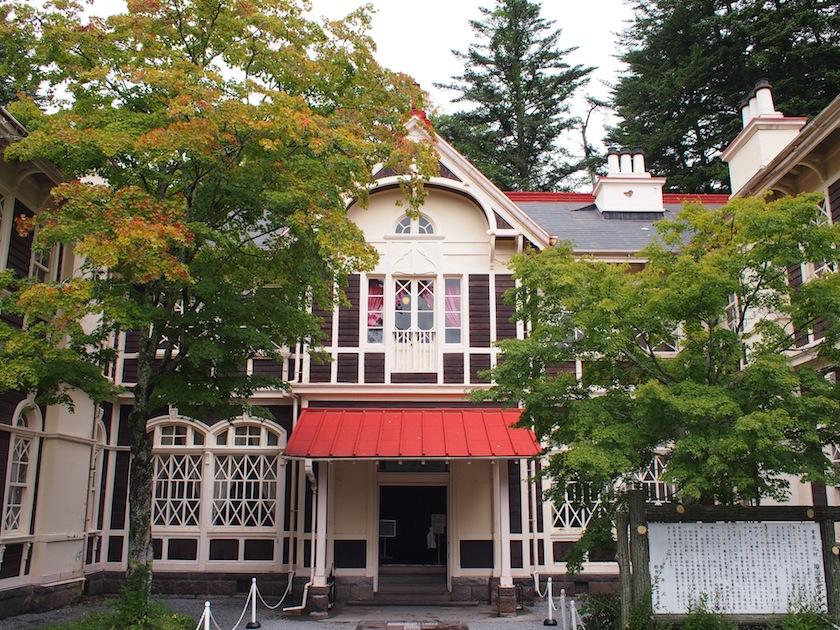 日本を代表する政財界人が多く滞在した旧三笠ホテル