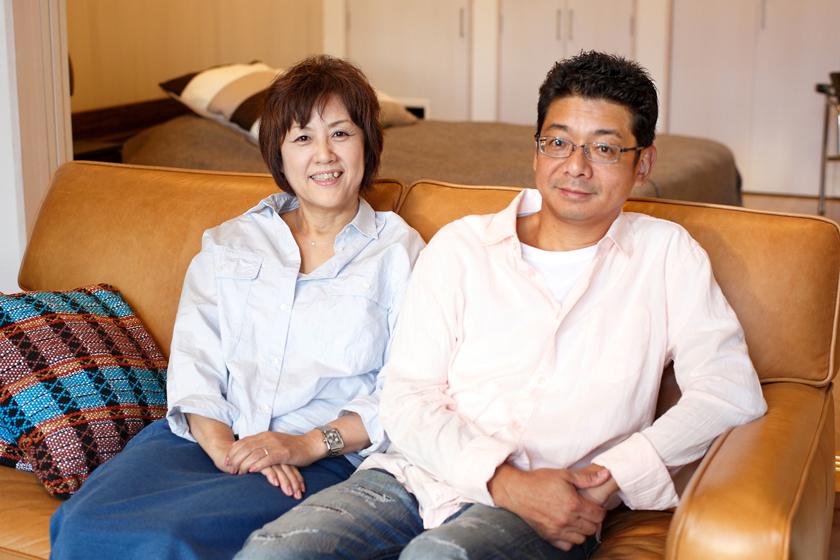 仲の良さが伺える加藤さんご夫妻。絶妙な掛け合いに、編集部もたくさん笑わせていただきました(笑)