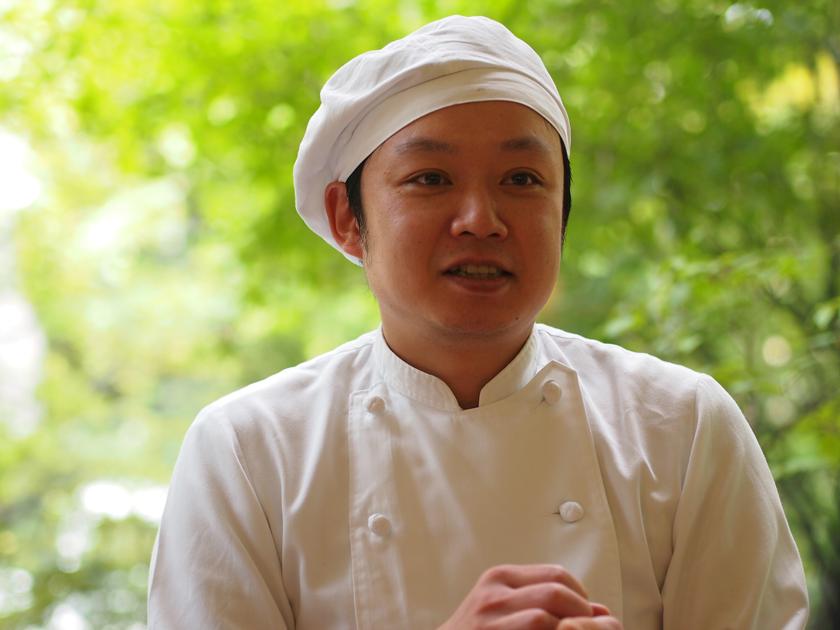 地元食材への愛情が豊かな、オーナーシェフの池田昌章さん