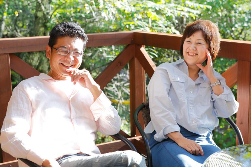 ご主人の加藤洋一さん(左)と、奥様の夕紀子さん(右)