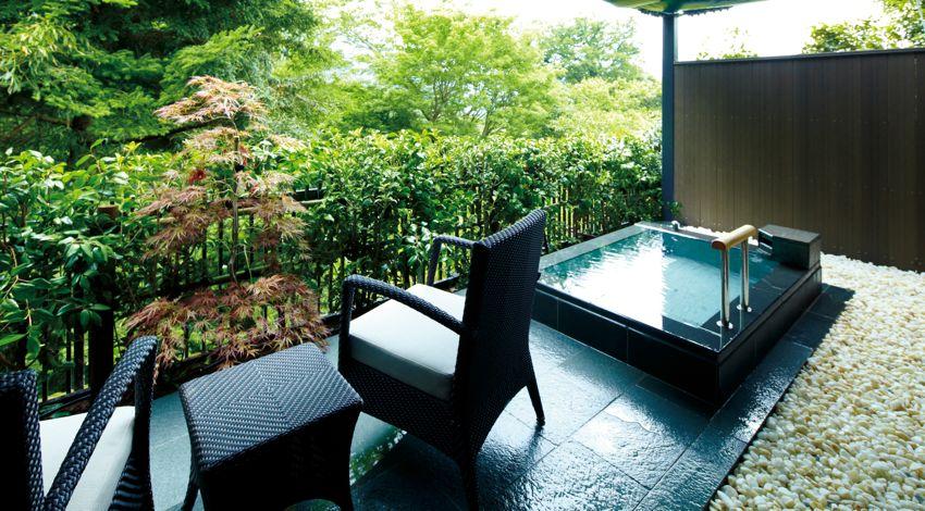 東急ハーヴェストクラブ箱根明神平の温泉露天風呂付き客室