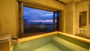 東急ハーヴェストクラブ伊東の温泉露天風呂付き客室