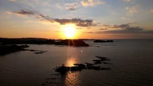 HVC南紀田辺からの夕陽