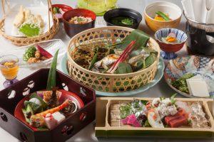 しょうざんリゾート京都「溪涼床」お料理