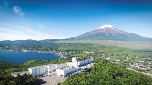 東急ハーヴェストクラブ山中湖マウント富士(俯瞰)
