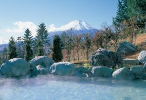 東急ハーヴェストクラブ山中湖マウント富士(露天風呂)