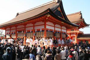 節分祭(伏見稲荷大社)