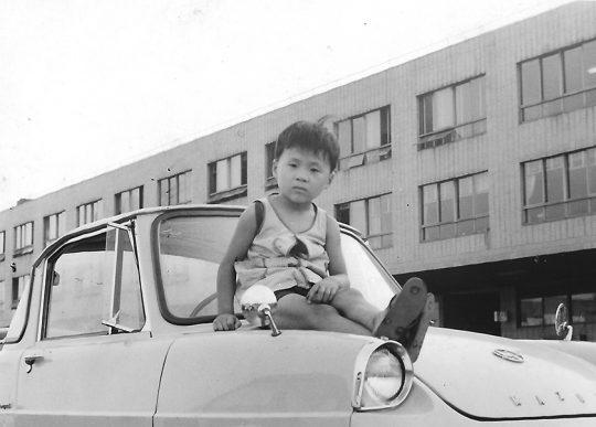 蒸気機関車が好きだった僕を、父は毎夕に熊本駅までドライブに連れて行ってくれた。