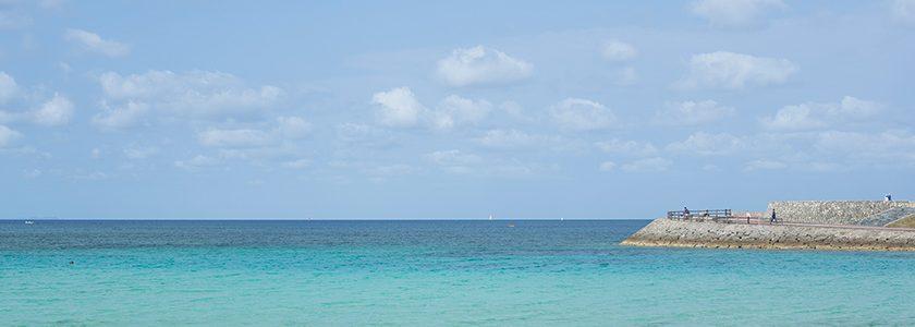 眼を見張るようなうつくしい海が、移住を歓迎してくれた
