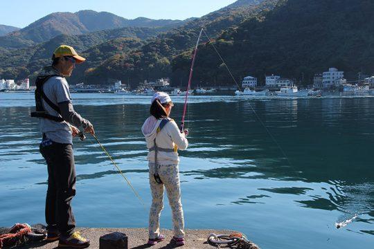 西伊豆の釣り場