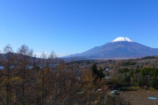 富士山の眺望(建物より南西方向)