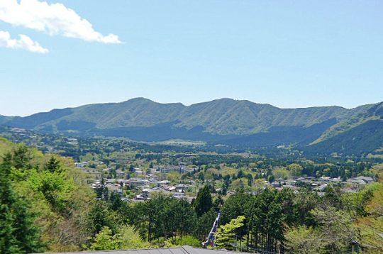 仙石笹尾台からの眺望