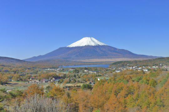 リセス山中湖、6階からの眺望