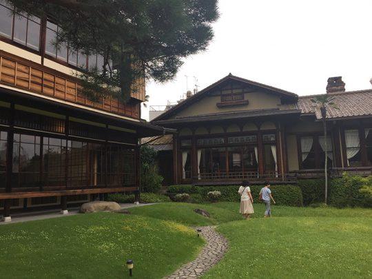 NHKの朝ドラ『花子とアン』のロケでも使われました。