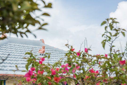 赤瓦にシーサー、外人住宅、うつくしい海、見慣れない風景が、沖縄には広がっていた