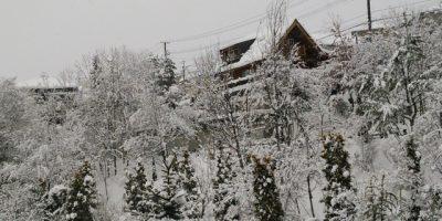 冬の高原リゾート