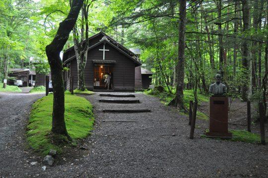 軽井沢の原点・ショー記念礼拝堂