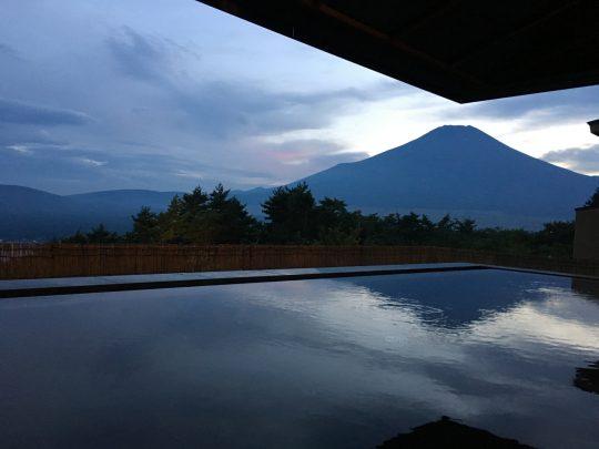 東急ハーヴェストクラブ山中湖マウント富士の展望露天風呂