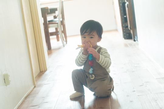 子どもたちが遊びまわる姿を見ると、沖縄に来てよかったなと思う