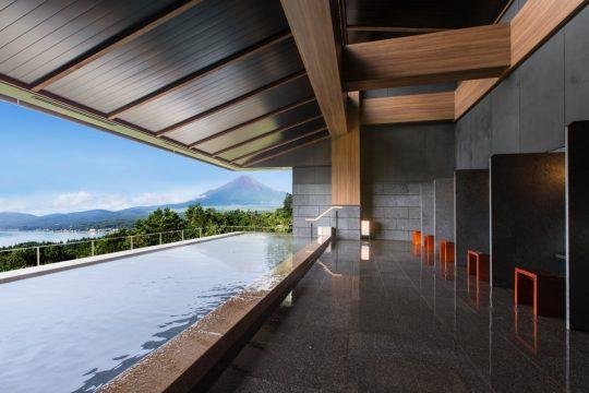 東急ハーヴェストクラブ山中湖マウント富士(展望風呂「はなれの湯」)