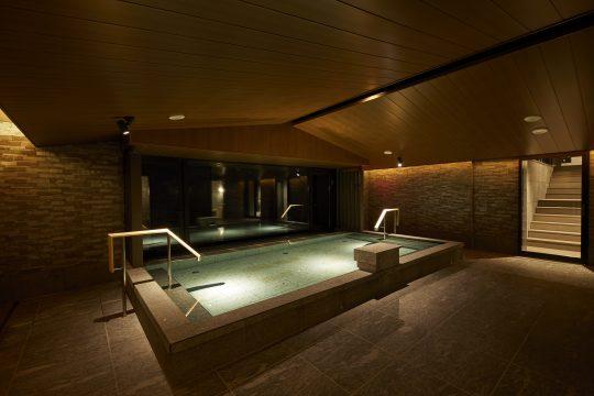「大浴場みやま」の内風呂