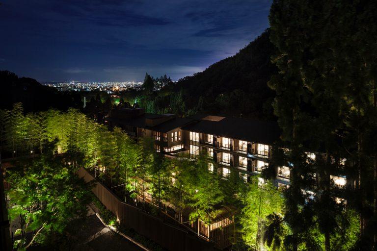 東急ハーヴェストクラブ京都鷹峯&VIALA から京都の街を眺める