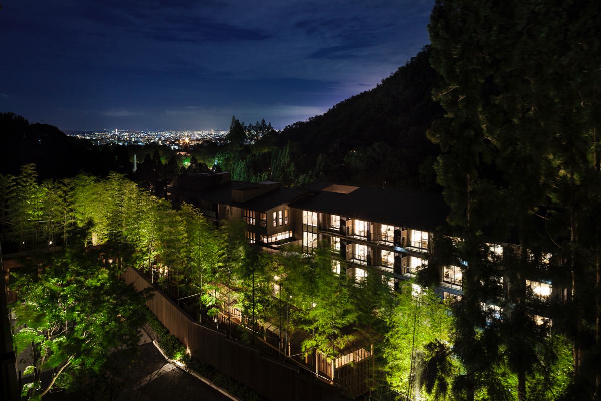 (東急ハーヴェストクラブ京都鷹峯&VIALA から京都の街を眺める)