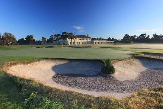 写真提供:Royal Melbourne Golf Club