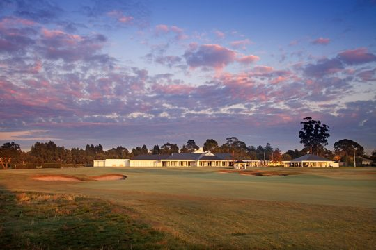 写真提供:Kingston Heath Golf Club