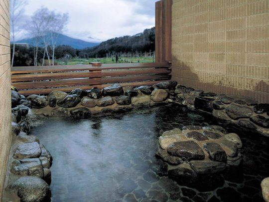 東急ハーヴェストクラブ斑尾の温泉露天風呂