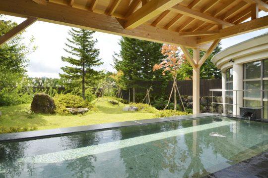 裏磐梯グランデコの温泉露天風呂