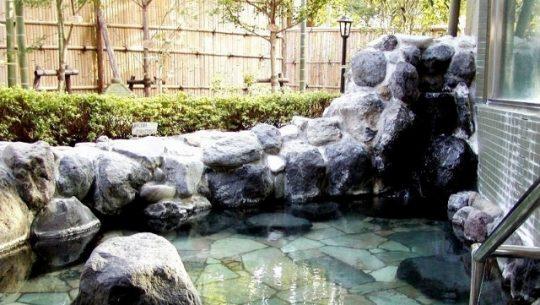 フォーシーズンズ・ガーデン熱海八方苑の露天風呂