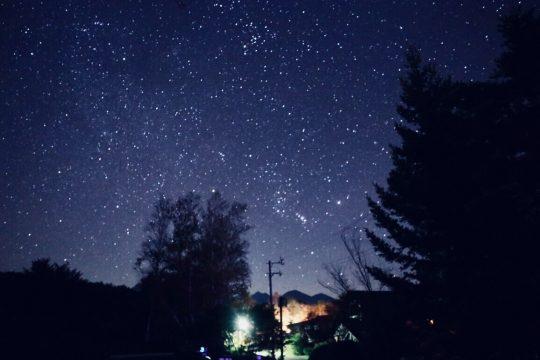 蓼科の星空