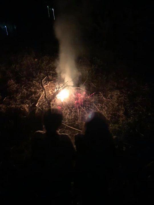 熾火のゆらぎは、いつまでも見ていられます。