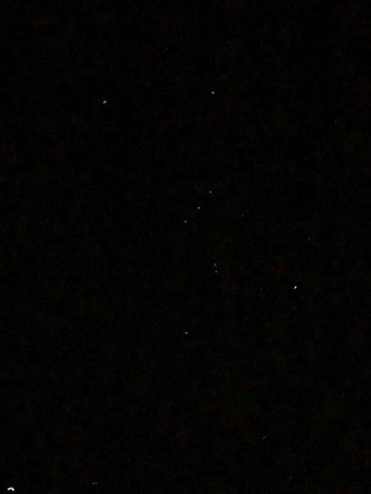夜空を見上げるとどうしてもオリオン座を探してしまうクセ。