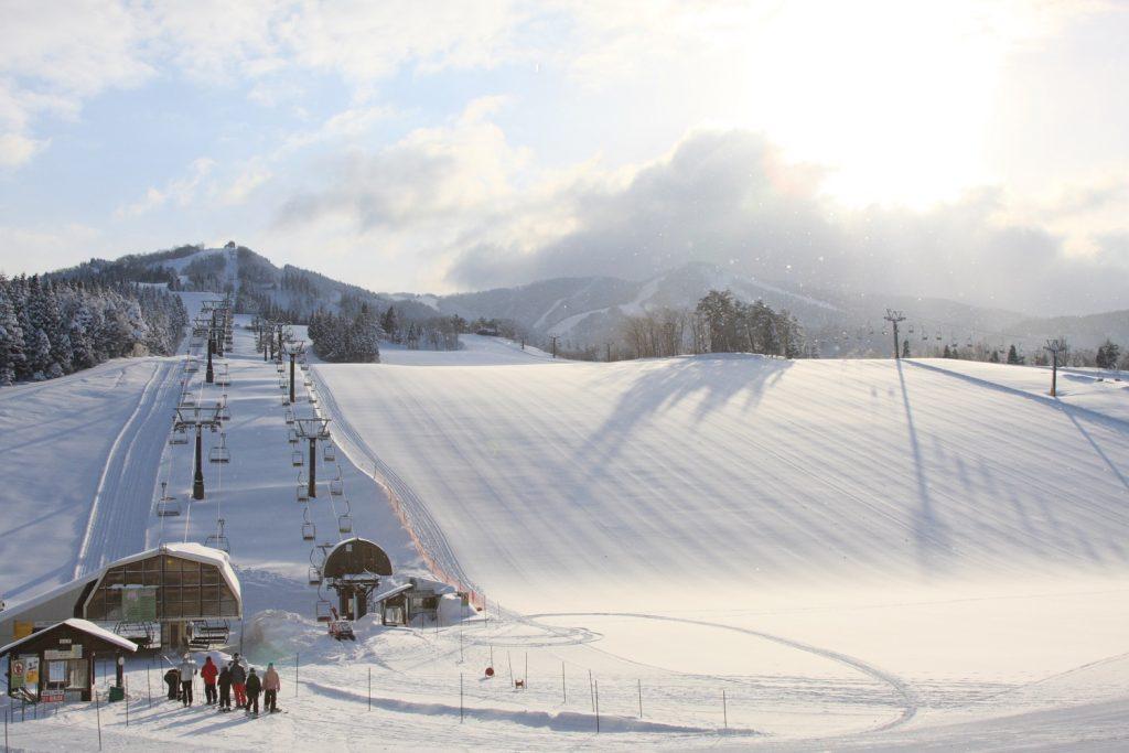 スキージャム勝山と朝日