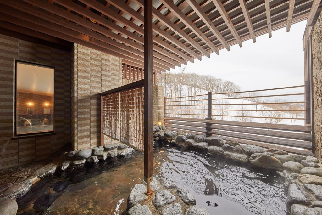 東急ハーヴェストクラブ斑尾内の露天風呂