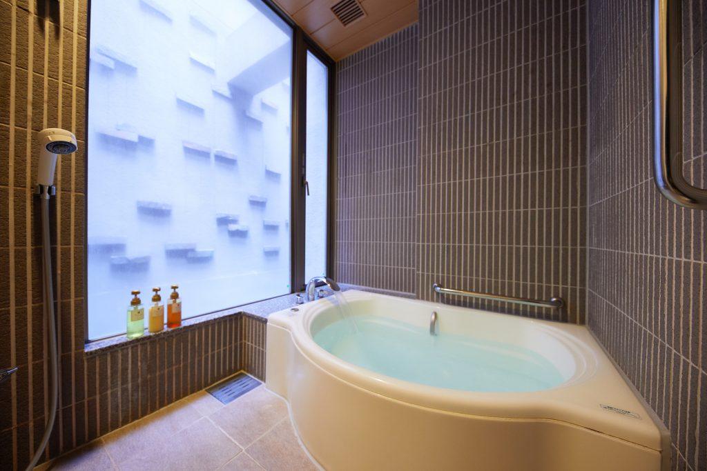旧軽井沢アネックス客室風呂
