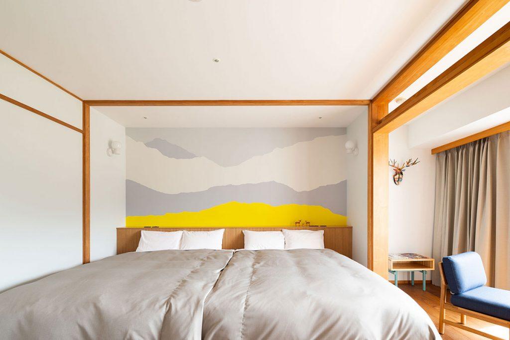 天城高原の大きなベッドルーム