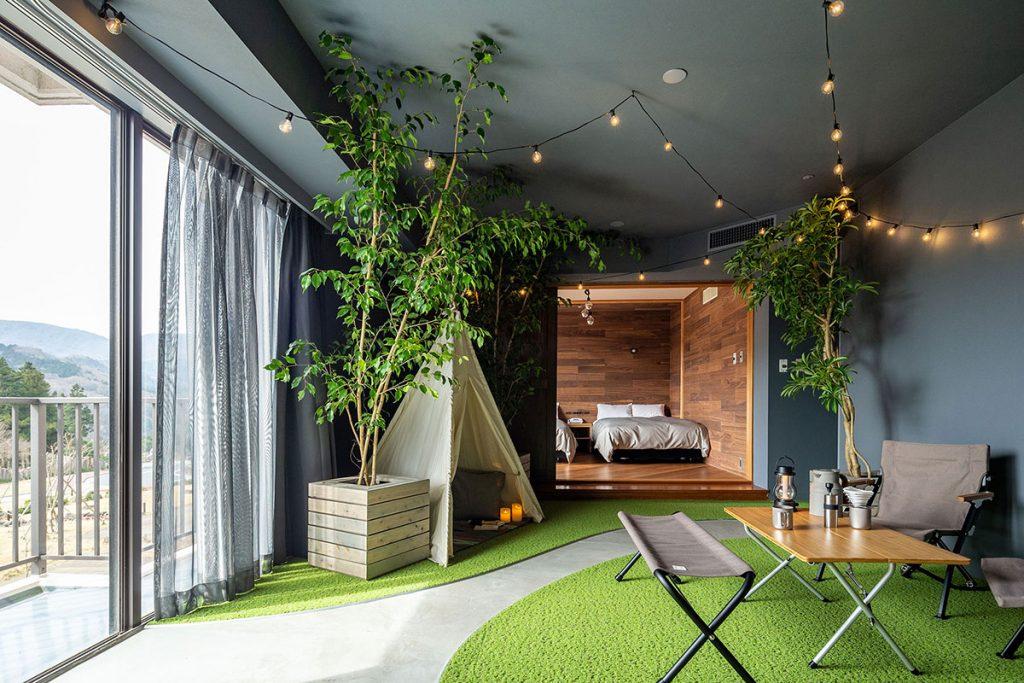 天城高原「キャンプの部屋」