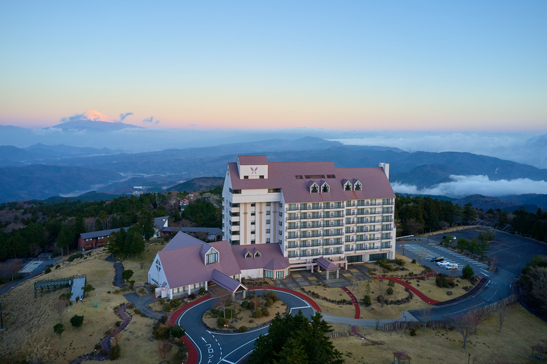 東急ハーヴェストクラブ天城高原からは、富士山と駿河湾を眺めることも!