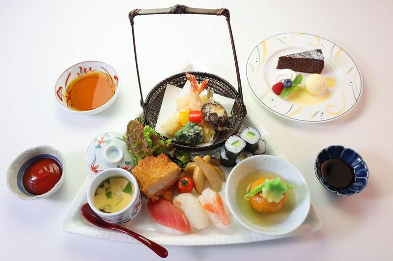那須のお部屋食「お子様洋食セット(小学校高学年向け)」